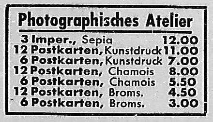 Ausschnitt. Rostocker Anzeiger, 03.12.1933