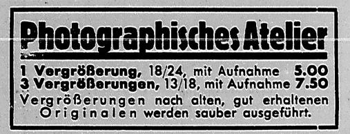 Ausschnitt. Rostocker Anzeiger, 05.12.1933