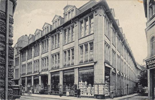 1915 gelaufen