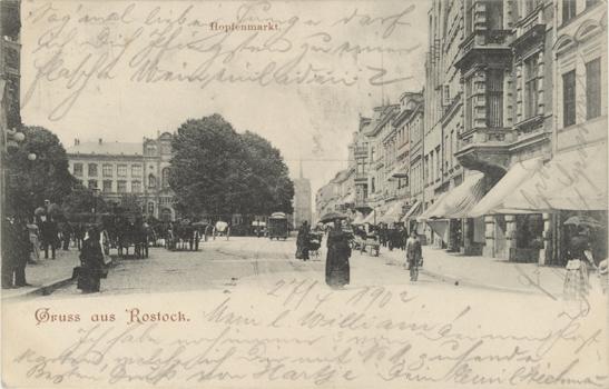 Ansichtskarte. Ohne Verlagsangabe. 1902 gelaufen
