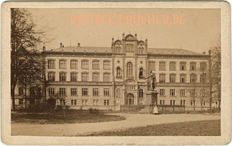 Universität; 1879 datiert; Visitformat; Rückseite siehe A5