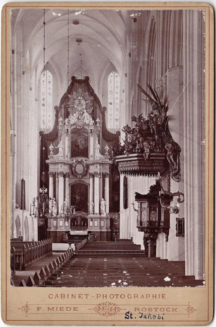 St. Jakobi; um 1890; Kabinettformat; Rückseite blanko; © Sammlung Jörg Utpatel