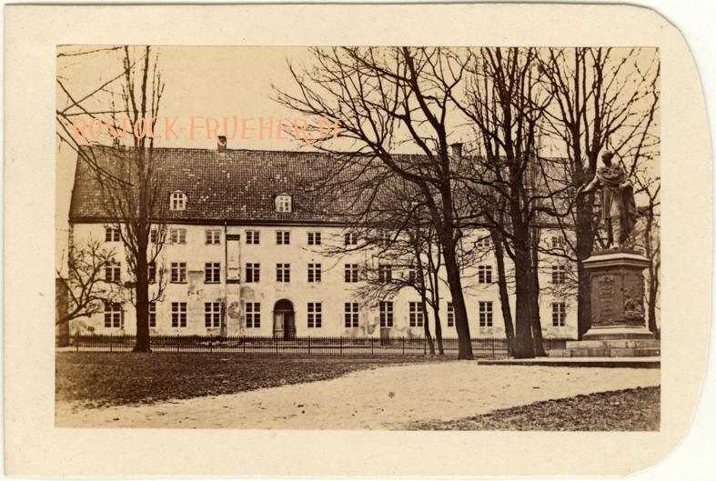 Weißes Kolleg, 1866 abgerissen; Visitformat; Rückseite siehe A1