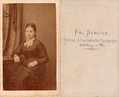 Fr. Struve; Visitformat
