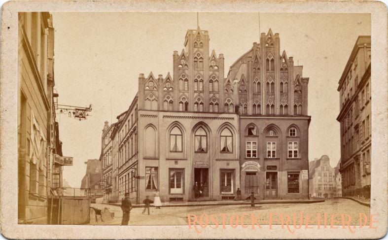 Am Schilde, 1872/74; Visitformat, Rückseite siehe A5