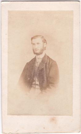 1867 datiert, Visitformat, Rückseite siehe A1; © Sammlung Jörg Utpatel