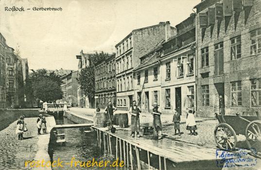 Gerberbruch. 1923 gelaufen