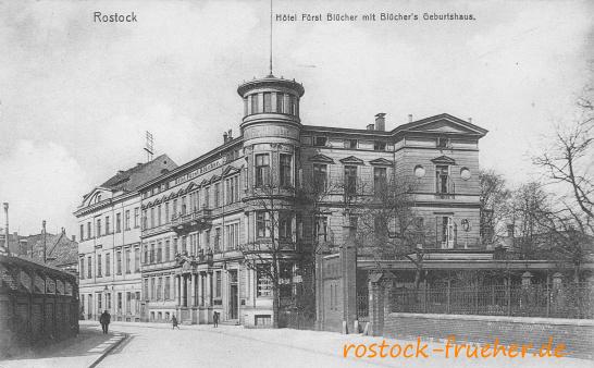 Hotel Fürst Blücher mit Blüchers Geburtshaus