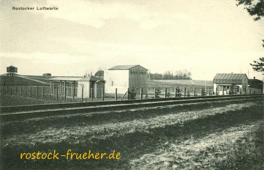 Rostocker Luftwarte. 1912 eingeweiht