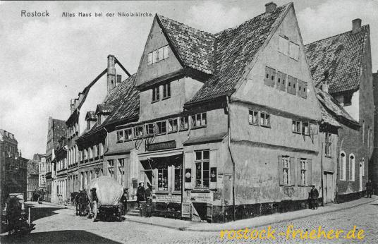 Altes Haus bei der Nikolaikirche