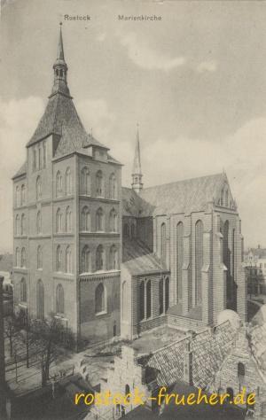 Marienkirche. 1916 gelaufen