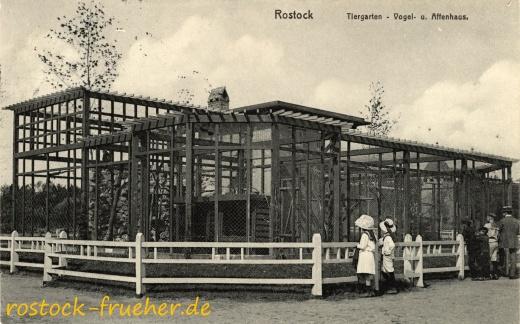 Tiergarten – Vogel- u. Affenhaus.
