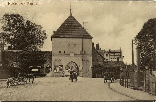 Petritor. 1914 gelaufen