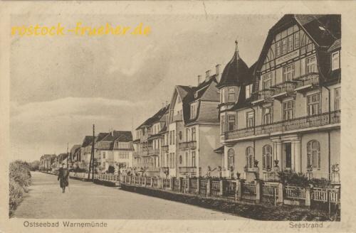 Ostseebad Warnemünde. Seestrand
