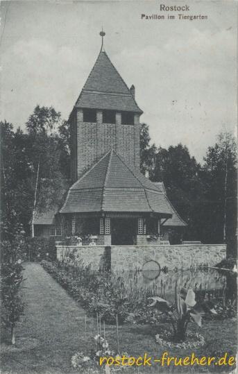 Pavillon im Tiergarten