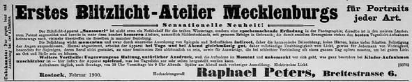 Rostocker Anzeiger, 16.02.1891