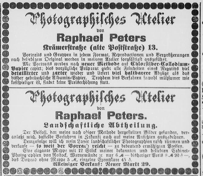 Rostocker Zeitung, 08.11.1889