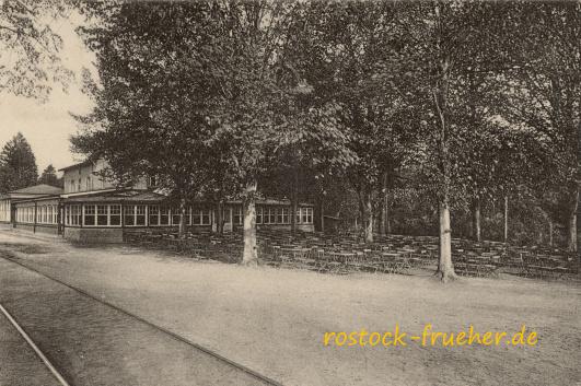 Forsthaus Trotzenburg. 1916 gelaufen