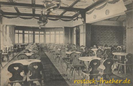 Forsthaus Trotzenburg. Altdeutsche Bauernstube. 1915 gelaufen