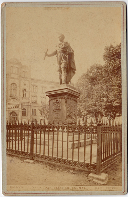 Das Blücher-Denkmal; Nr. 19. © Sammlung Utpatel