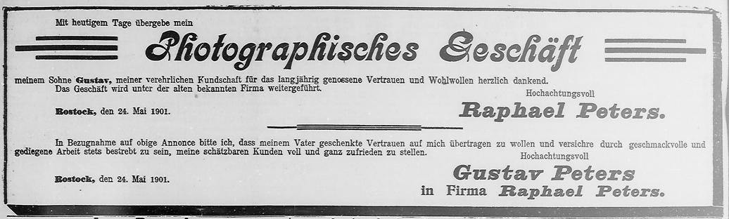 Rostocker Zeitung, 24.05.1901