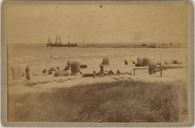 Warnemünde; Nr. 70a, um 1885