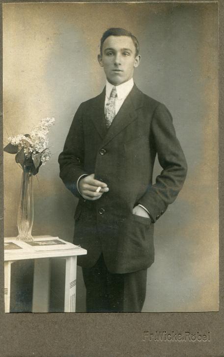 Fr. Wicke. 1920. Kabinettformat