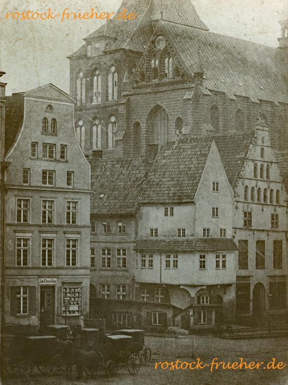 Neuer Markt, spätestens 1863. Reproduktion von S. Steenbock, wohl 1890er Jahre