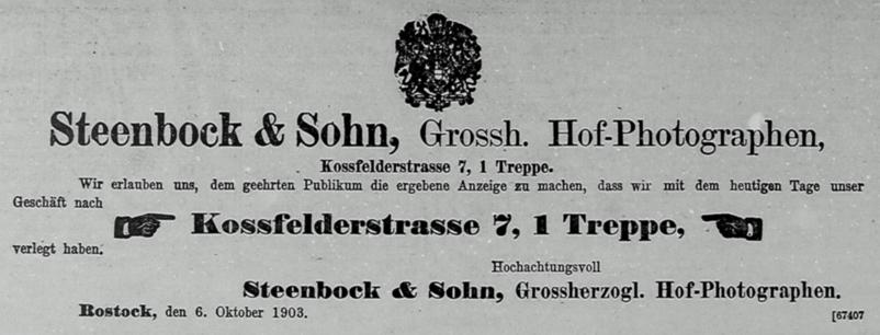 Rostocker Anzeiger 07.10.1903
