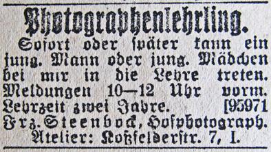 Rostocker Anzeiger, 19.03.1915