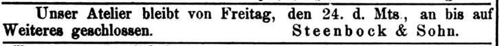 Rostocker Anzeiger, 25.07.1885