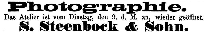 Rostocker Zeitung, 07.09.1885
