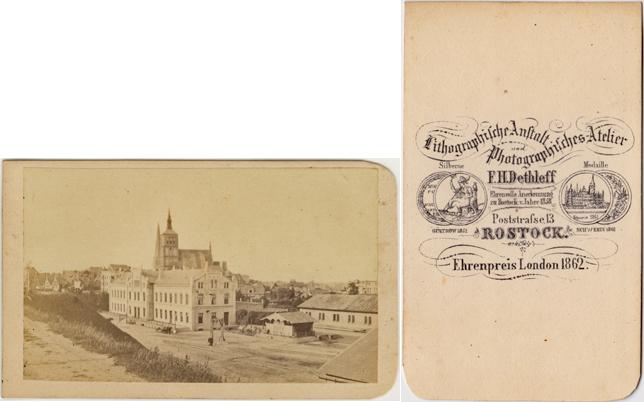Friedrich-Franz-Bahnhof; spätestens 1865
