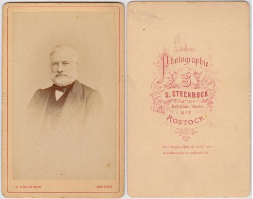 S. Steenbock. Kossfelderstr. 7
