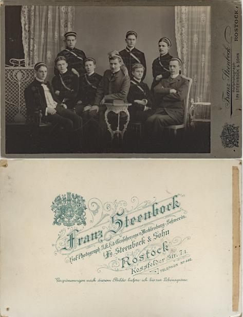 Franz Steenbock. Kossfelder Str. 7