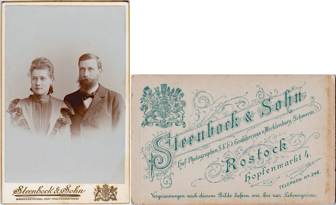 Steenbock & Sohn. Hopfenmarkt 4
