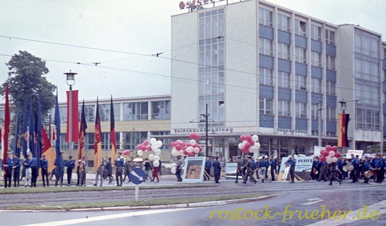 Karl-Marx-Platz, Gebäude der Ostsee-Zeitung