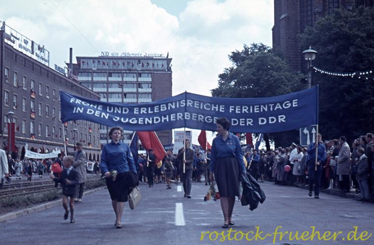 Lange Straße. Frohe und erlebnisreiche Ferientage in den Jugendherbergen der DDR