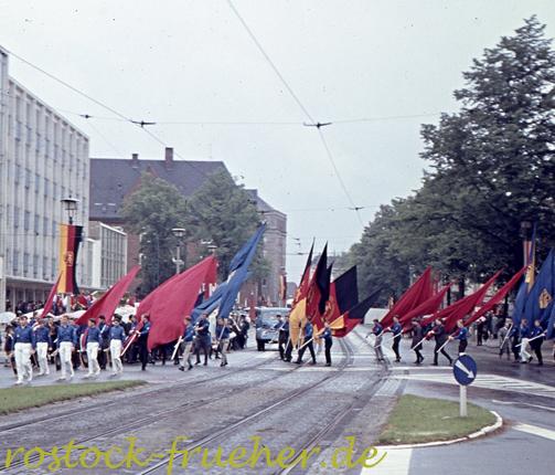 Karl-Marx-Platz, heute Steintor-Kreuzung