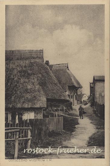 Ostseebad Wustrow i. M., handschriftlich 1919 datiert