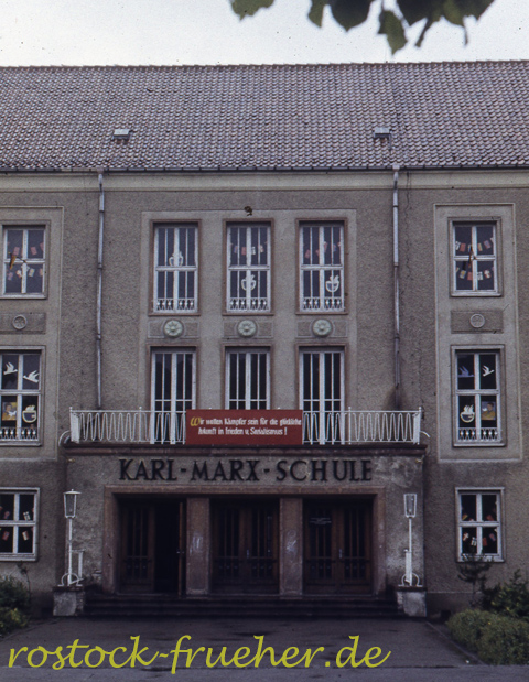 Karl-Marx-Schule, jetzt Heinrich-Schütz-Schule