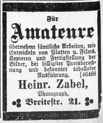 Rostocker Anzeiger 01.05.1904