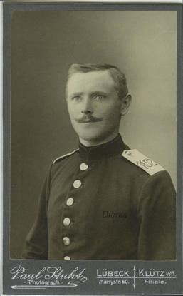 Paul Stuht. Lübeck und Klütz. Rückseite blanko. © Sammlung Dierks