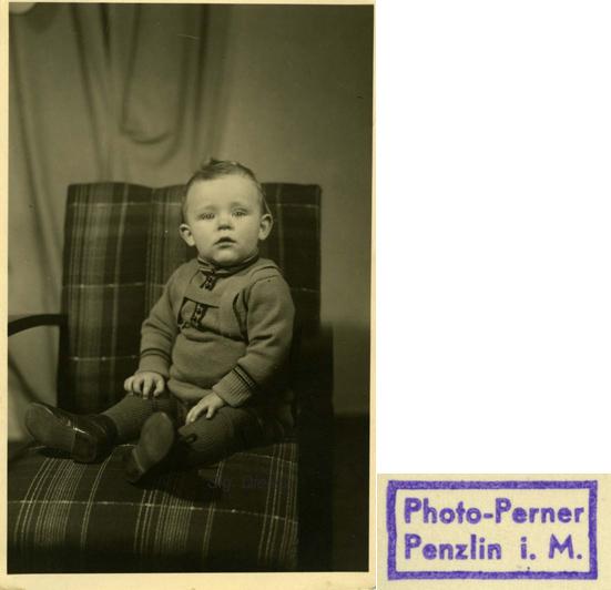 Photo-Perner. Postkartenformat. © Sammlung Dierks