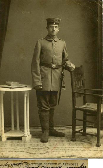Ernst Grantzow, Ostseebad Arendsee. Fotopostkarte, 1914 gelaufen
