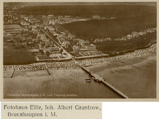 Fotohaus Elite, Inh. Albert Grantzow. Postkarte