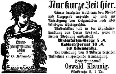 Rostocker Zeitung, 23.07.1885