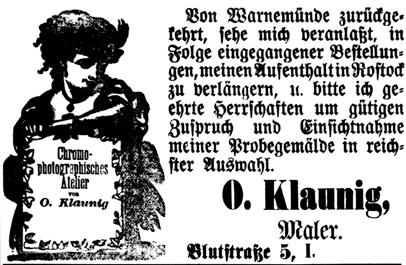 Rostocker Zeitung, 05.10.1885