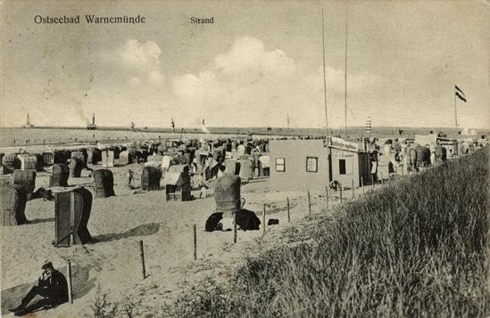 Ansichtskarte, 1917 gealufen