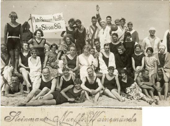 Fotopostkarte, 1925 gelaufen